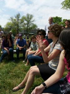 Telling the story of our tiny house community idea - Spring 2012