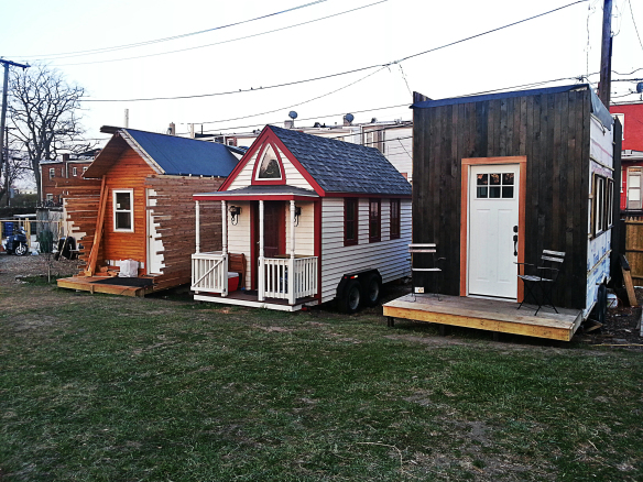 Tiny Houses at Boneyard Studios