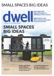 Screenshot of Dwell November 2013 Issue: Small Spaces, Big Ideas.